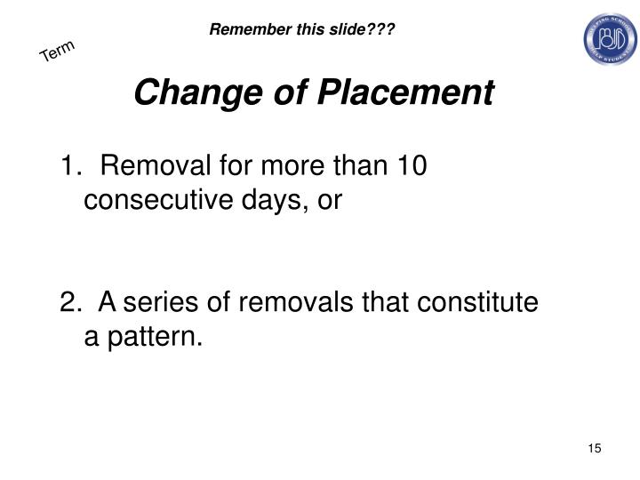 Remember this slide???