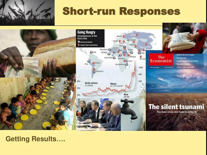 Short-run Responses