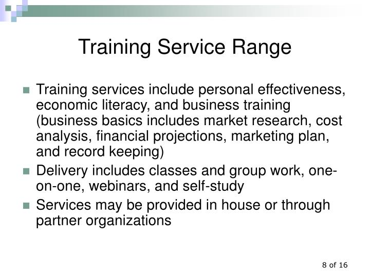 Training Service Range