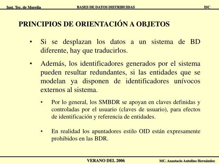 PRINCIPIOS DE ORIENTACIÓN A OBJETOS