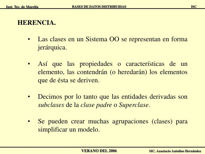 HERENCIA.