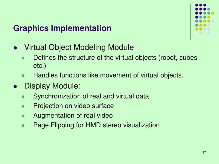 Graphics Implementation