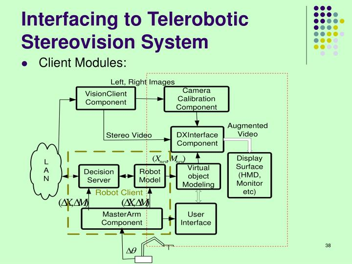 Interfacing to Telerobotic Stereovision System