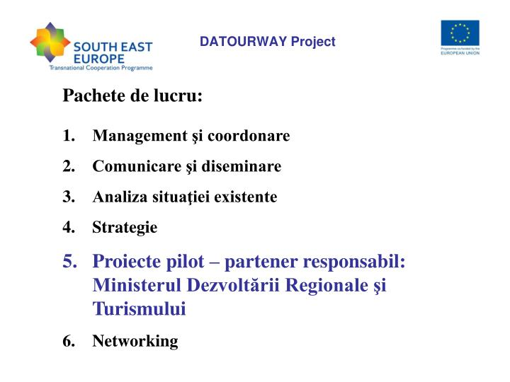 Datourway project