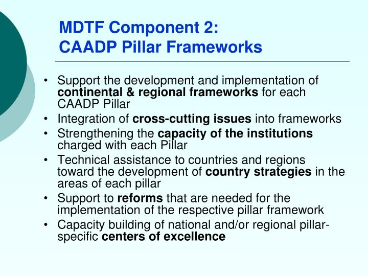 MDTF Component 2: