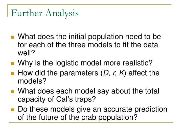 Further Analysis