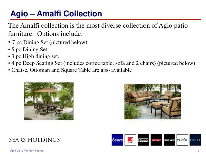 Agio – Amalfi Collection