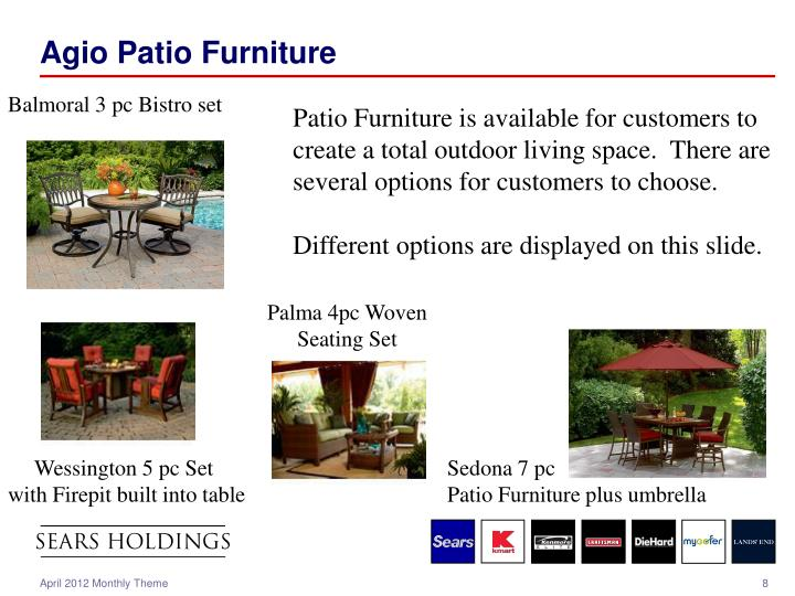 Agio Patio Furniture