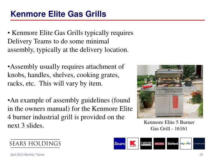 Kenmore Elite Gas Grills