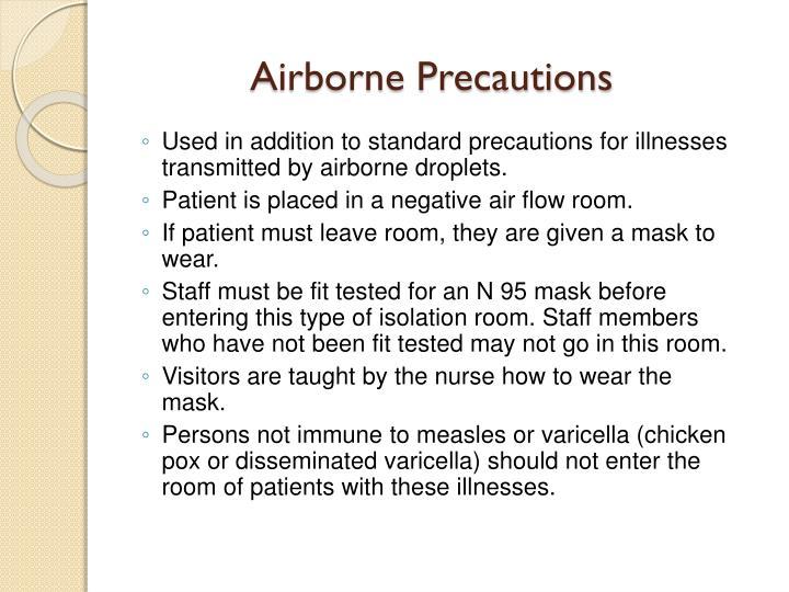 Airborne Precautions