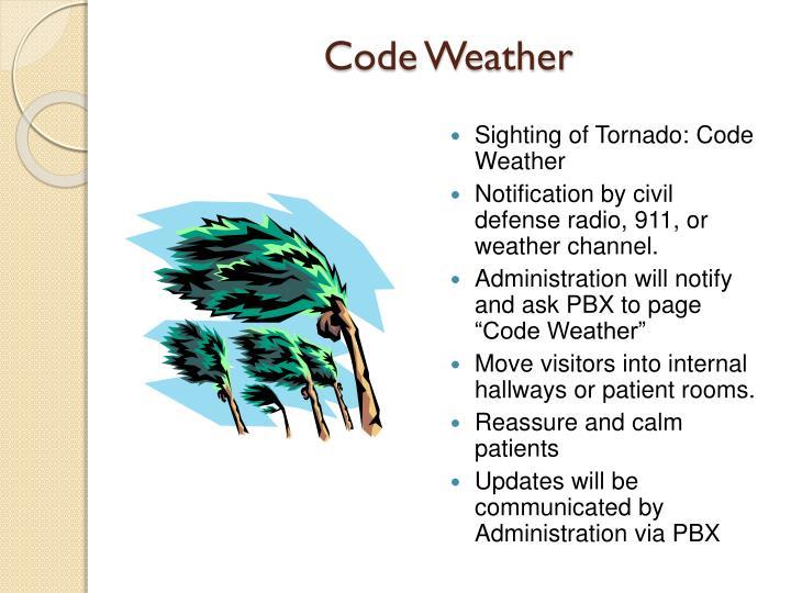Code Weather