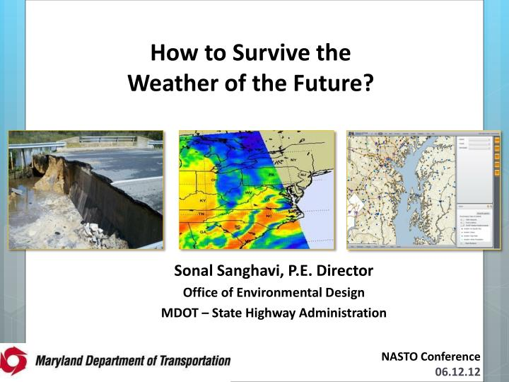 how to survive the weather of the future