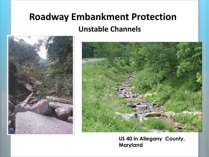 Roadway Embankment Protection