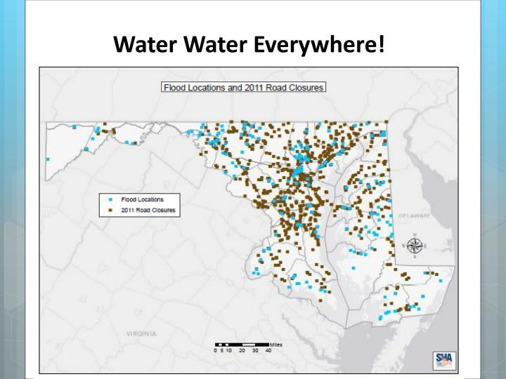 Water Water Everywhere!