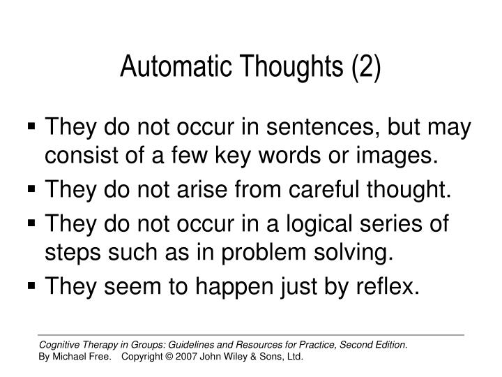 Automatic Thoughts (2)
