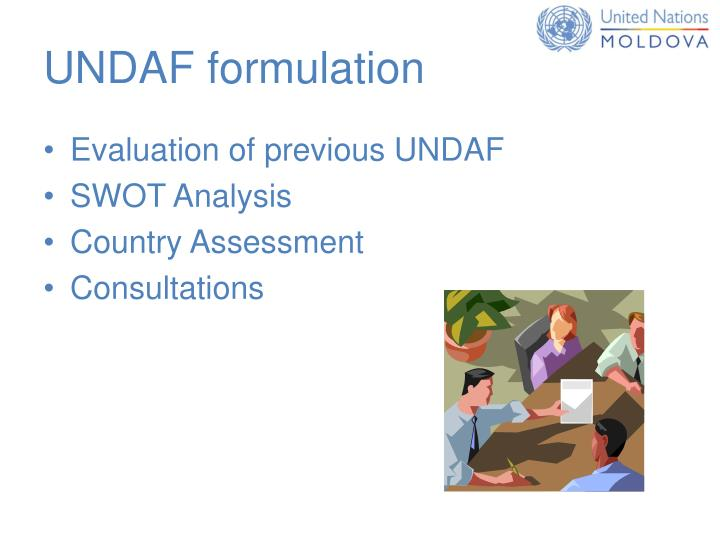 UNDAF formulation