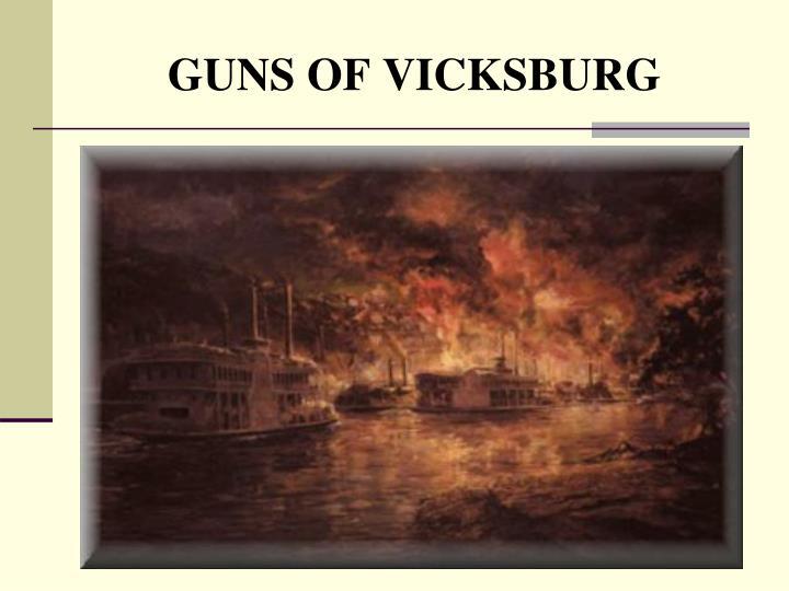 GUNS OF VICKSBURG