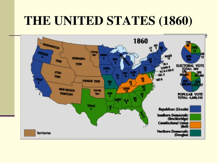 THE UNITED STATES (1860)