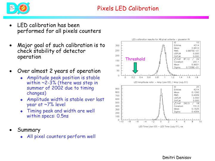 Pixels LED Calibration