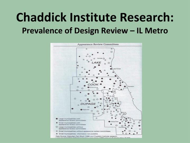 Chaddick Institute Research: