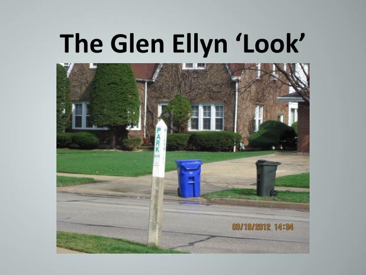 The Glen Ellyn 'Look'