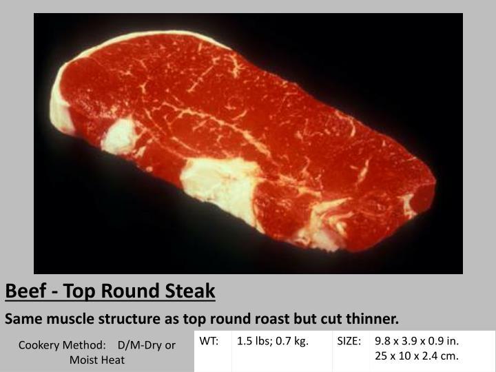 Beef - Top Round Steak