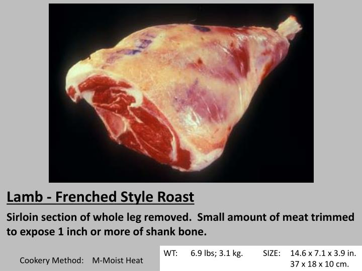 Lamb - Frenched Style Roast