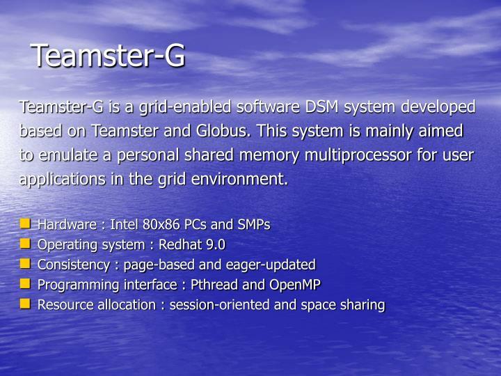Teamster-G