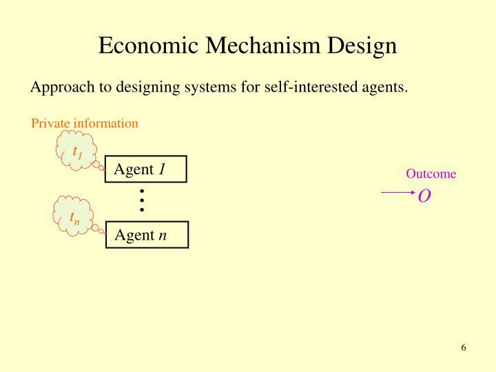 Economic Mechanism Design
