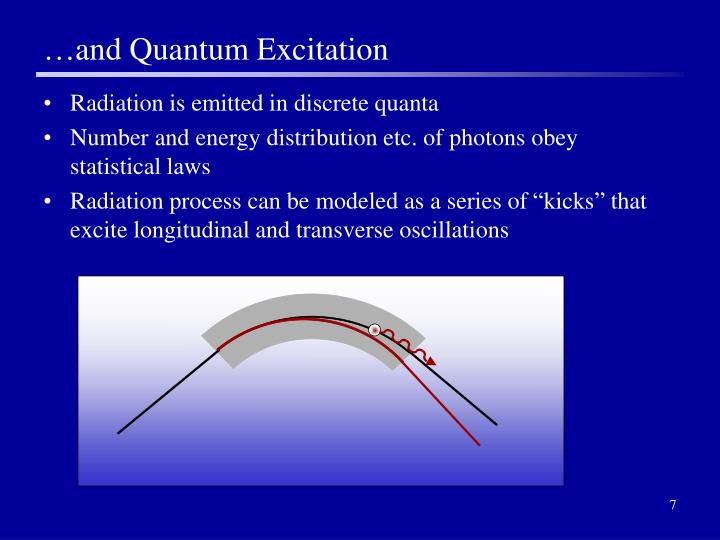 …and Quantum Excitation