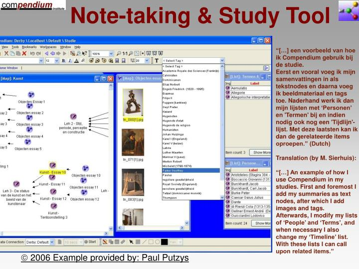 Note-taking & Study Tool