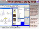 note taking study tool