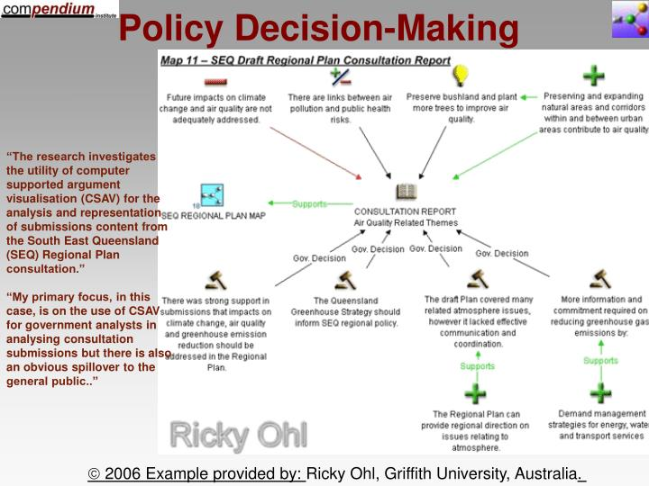 Policy Decision-Making