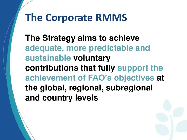 The Corporate RMMS