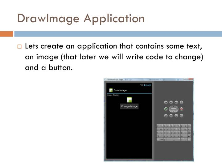 Drawimage application