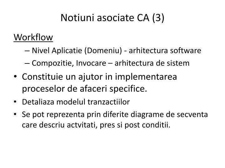 Notiuni asociate CA (3)