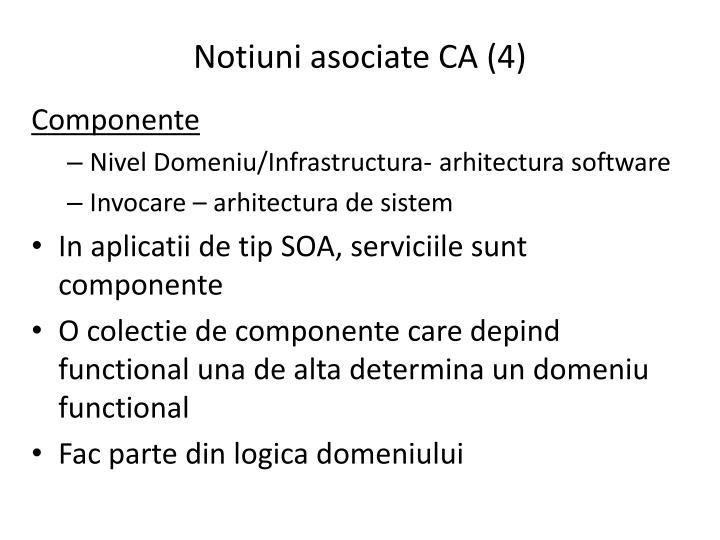Notiuni asociate CA (4)