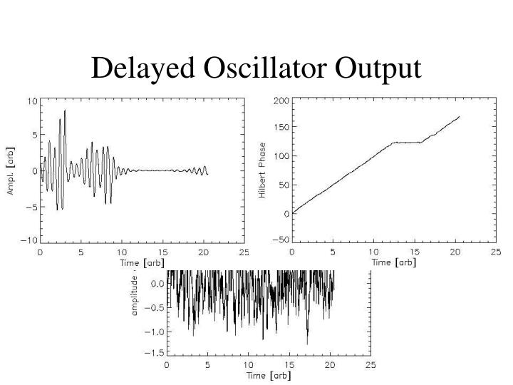 Delayed Oscillator Output