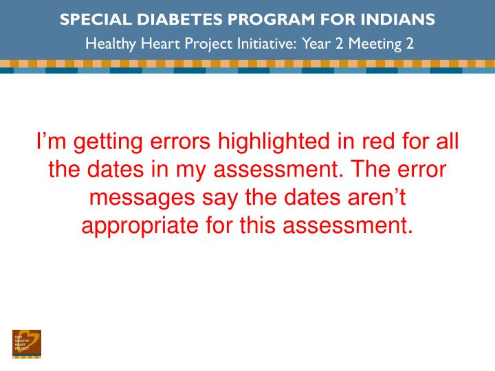 SPECIAL DIABETES PROGRAM FOR INDIANS