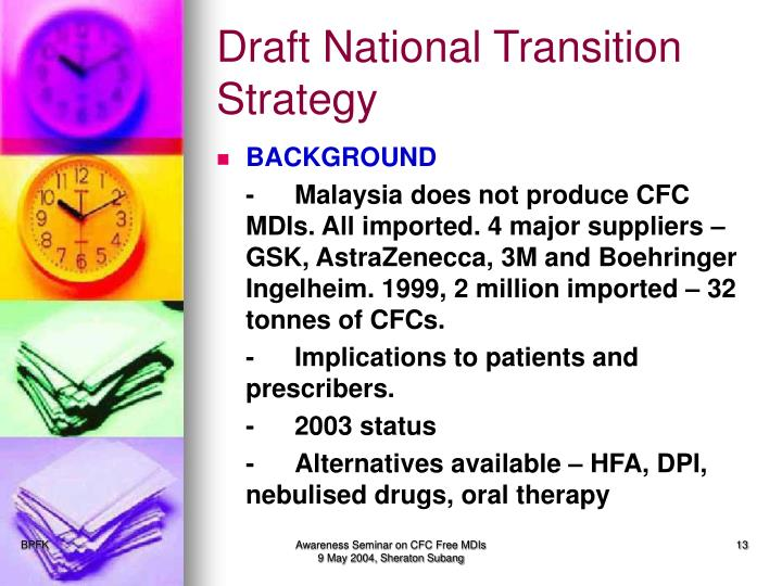 Draft National Transition Strategy