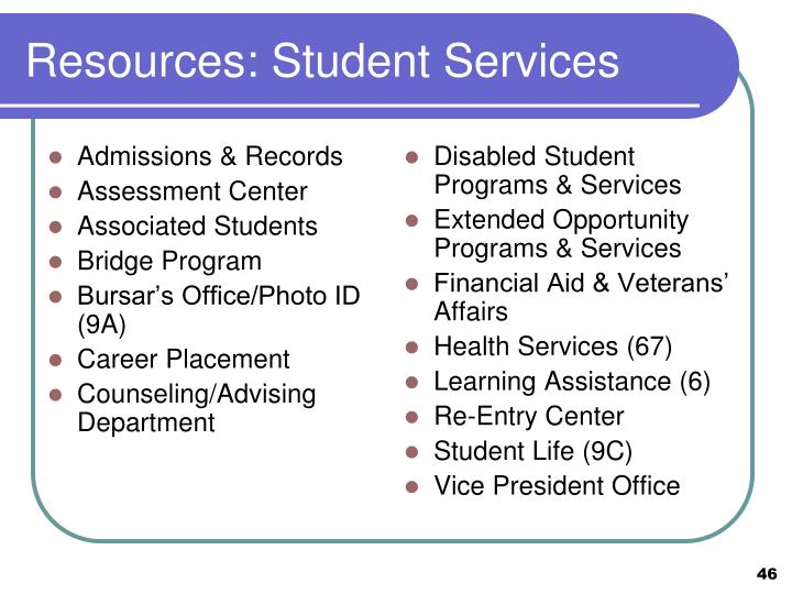Disabled Student Programs & Services