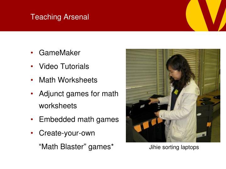 Teaching Arsenal
