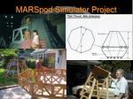 marspod simulator project