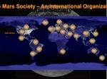 the mars society an international organization