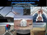 we carried out the following projects and studies construction of a simulated pressurized tunnel
