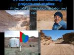 we carried out the following projects and studies project mast road documentation and surveys