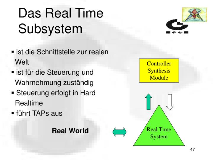 Controller Synthesis Module