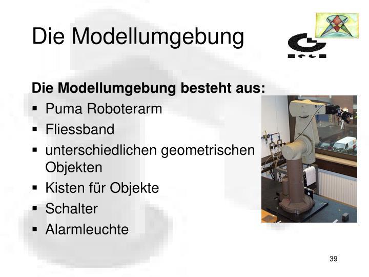 Die Modellumgebung