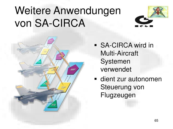 Weitere Anwendungen von SA-CIRCA