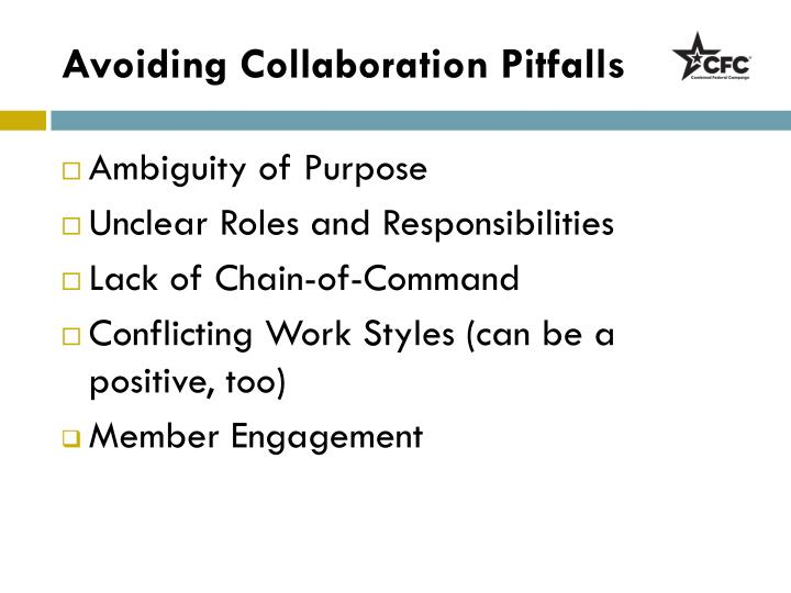 Avoiding Collaboration Pitfalls